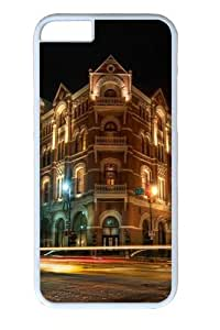 City night PC For Iphone 6 Plus Phone Case Cover White