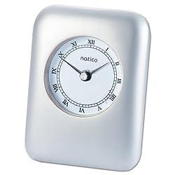 Natico Pearl Contempo Alarm Clock (10-P604) by Natico