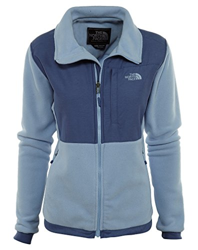 The North Face Women's Denali 2 Jacket Chambray Blue/Coastal Fjord Blue Heather M