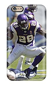 High-quality Durability Case For Iphone 6(adrian Peterson Football )(3D PC Soft Case)