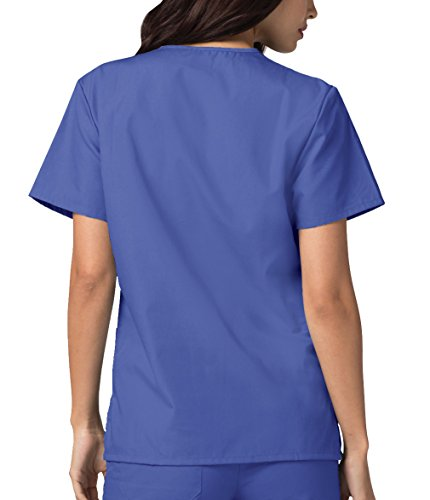 Lavoro Superiore Camice Ospedale Blue Mediche Adar Uniformi ceil Infermiera Parte Blu Unisex Da UTnqp4pwC