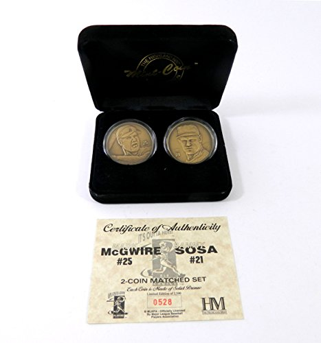 (Highland Mint McGwire/Sosa Two Bronze Coin Set # out of 2,500)