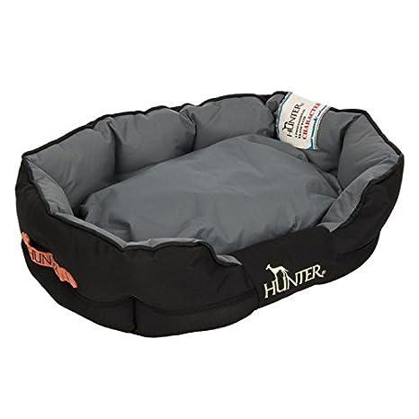 Hunter perro cama wangado Grimstad negro resistente casa Cazador Perro Cama Cojín con extraíble, extra grueso acolchado extraíble, repelente al agua, ...