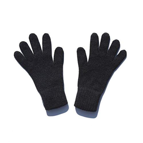 100% Cashmere Gloves (Dark Grey)19-15-025