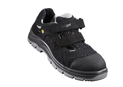 5410al de Schwarz Schwarz Chaussures Grau Grau Mixte Stabilus Adulte Noir Sécurité d7RZRwq