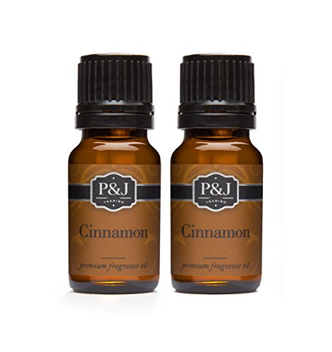 Cinnamon Fragrance Oil - Premium Grade Scented Oil - 10ml - 2-Pack