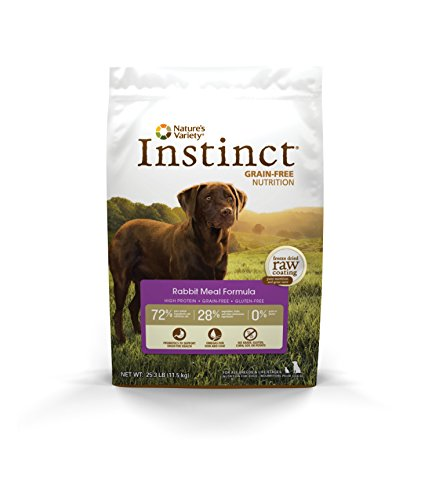 Instinct Original Grain Free Rabbit Meal Formula Natural Dry Dog Food By Nature'S Variety, 25.3 Lb....
