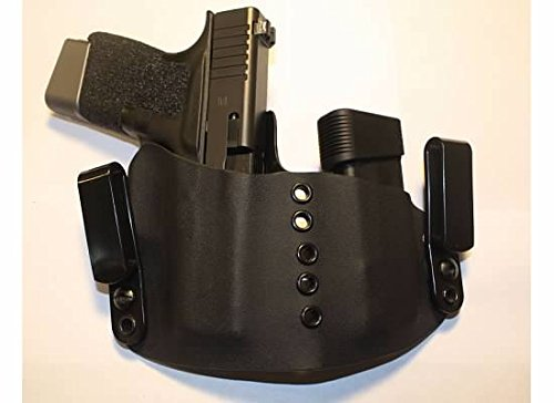 Advanced Performance Shooting Holsters Protective Services ELROD, Appendix Inside The Waistband Rig(Black)