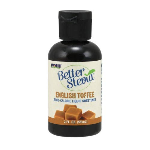 Better Stevia Liquid Sweetener English Toffee, English Toffee 2 fl oz (Pack of 2)