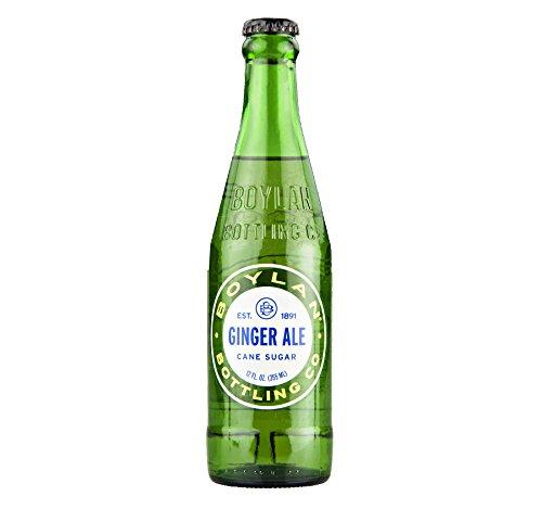 Boylan Cane Sugar Ginger Ale 12 oz. (24 - Blue Maui Ginger