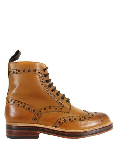 aa58bbe325b Grenson Fred Tan Boots 10  Amazon.co.uk  Shoes   Bags