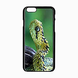 iPhone 6 Black Hardshell Case 4.7inch snake scales eyes Desin Images Protector Back Cover