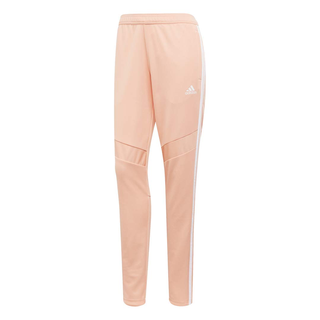 adidas Women's Tiro 19 Training Soccer Pants, Glow Pink/White, Large by adidas