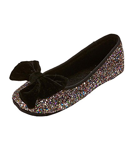 Kate Spade New York Womens Sussex Glitter Ballett Leiligheter Multi Glitter