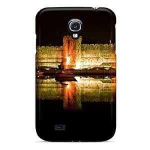 First-class Case Cover For Galaxy S4 Dual Protection Cover Caernarfon Castle