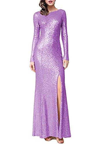 para mujer Lilac Stillluxury Vestido A ajustado 1n8xwqFntE