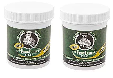 Froglube CLP 4 Oz. Tub of Paste Gun Cleaner Lubricant Protectant (Twо Расk) by Frog Lube