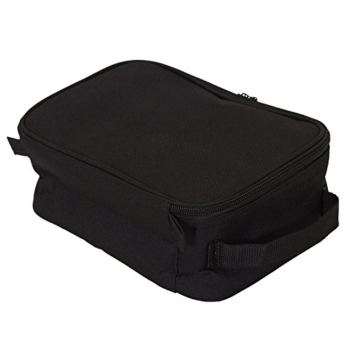 41moMJkp8bL - Household Essentials 6706 Grooming Toiletry Travel Bag Organizer for Men and Women | Black