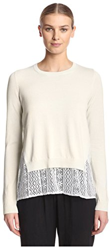 french-connection-womens-layered-top-capri-white-s
