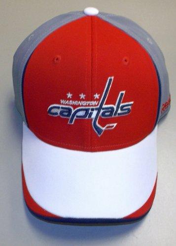 Draft Center Ice (Reebok Washington Capitals 2010 Draft Center Ice Stretch Fit Hat Large/X Large)