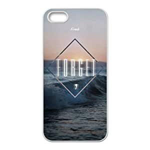 iPhone 5 5s Cell Phone Case White quotes parallax forget freak VIU118977