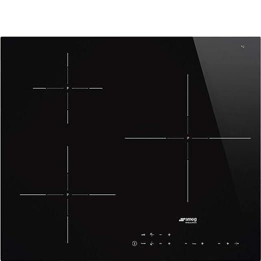 Smeg SI5632D hobs Negro Integrado Con - Placa (Negro ...