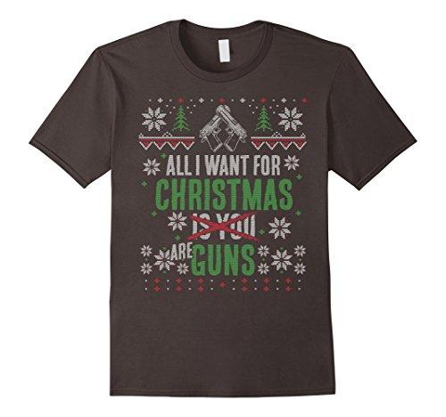 Awesome Ugly Christmas Gun Rights T-Shirt