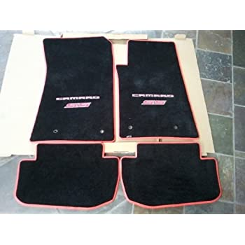 camaro products floors front ebony mats lloyd s velourtex chevrolet ss silver floor grande mat