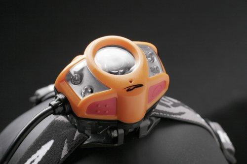 APXL-EXT Princeton Tec Apex Extreme LED Headlamp Orange