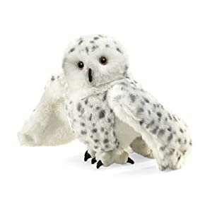 folkmanis snowy owl hand puppet - 41moOQm2eXL - Folkmanis Snowy Owl Hand Puppet