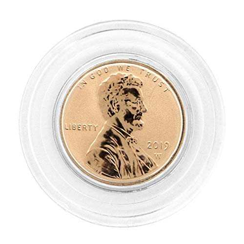 2019 W Reverse Proof Lincoln Shield Cent in Air Tite - West Point Mint Cent Proof US Mint