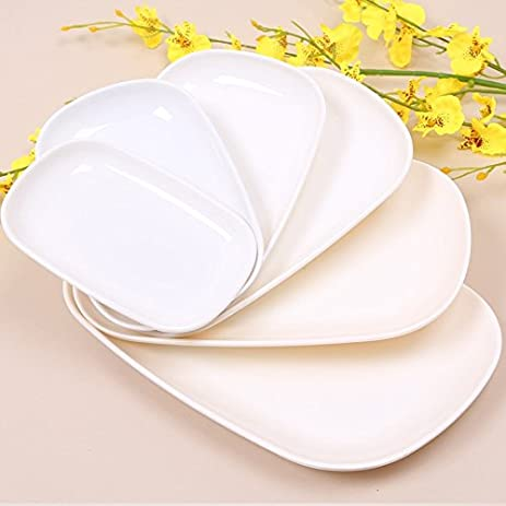 Home Product Rectangle Plates Melamine Dishes Dinner Utensils Kitchen Accessories Restaurant Food Holder Buffet Smorgasbord 6  sc 1 st  Amazon.com & Amazon.com: Home Product Rectangle Plates Melamine Dishes Dinner ...