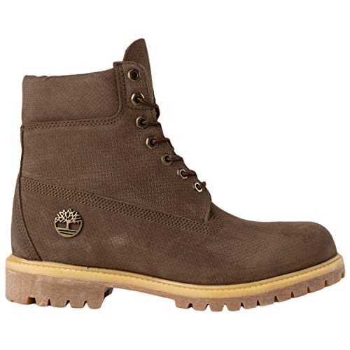 Timberland Premium Boot Potting, BOTIN Maschile Dark Brown