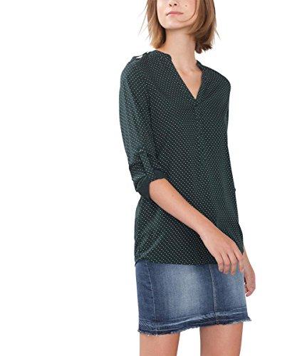 ESPRIT, Blusa para Mujer Verde (Bottle Green 385)