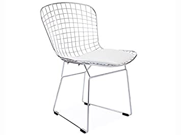 BlancCuisineamp; Side Maison Chaise Wire Bertoia T1cJlKF