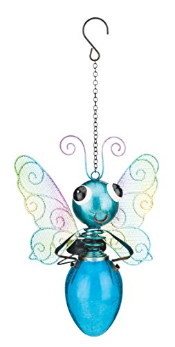 Regal Art & Gift Solar Butterfly Lantern - Blue