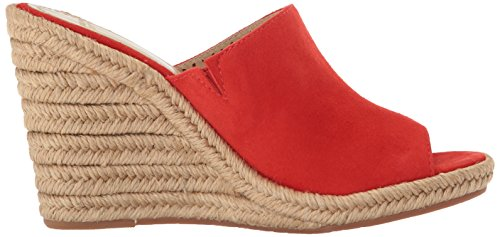 Women's Myrah amp; Murphy Johnston Red Espadrille Wedge Sandal SwpFZqR