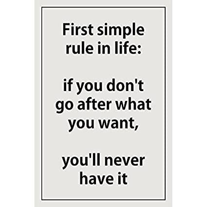 Amazon Com Inspirational Quotes Posters Prints First Simple Rule In