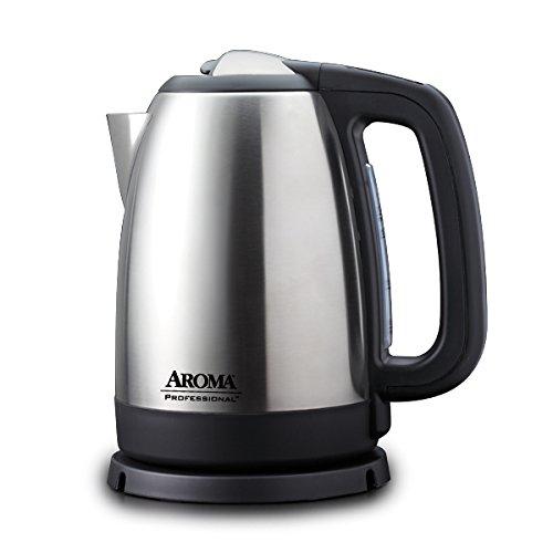 Aroma Housewares AWK-299SD Digital Electric Kettle, 1.7 L, Silver
