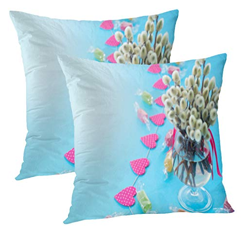 Buy carnival glass blue vase