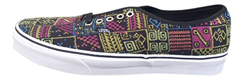 Freshness True Multicolored Shoes Vans VN0A38EMMP7 White Authentic Skate Mixed Tape Unisex 7UHES