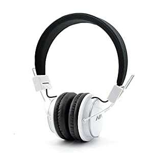 Nia MP3 Enabled Over the Ear Headphone - White