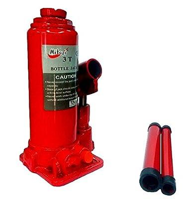 Toolsvilla's Mitsui Heavy Duty hydraulic Bottle jack 3 Ton Mitsui from Toolsvilla with 1 year warranty