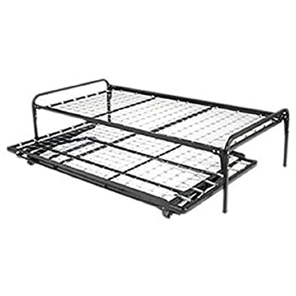 Amazon Com Myeasyshopping Twin Size Hi Rise Bed Daybed Frame Full