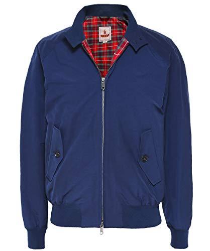 - Baracuta Men's G9 Modern Classic Harrington Jacket Navy US 46