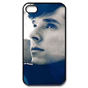 C-EUR Customized Print Benedict Cumberbatch Pattern Back Case for iPhone 4/4S