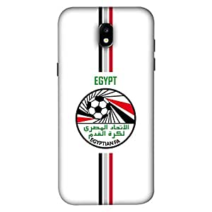 ColorKing Samsung J5 Pro 2017 Football White Case shell cover - Fifa Egypt 01