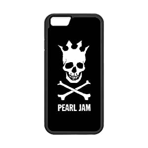 DIY Printed Pearl Jam Band hard plastic case skin cover For iPhone 6 Plus 5.5 Inch SNQ673022