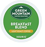 Green Mountain Coffee Roasters Breakfast Blend, Keurig Single-Serve K-Cup Pods, Light Roast Coffee, 108 Count