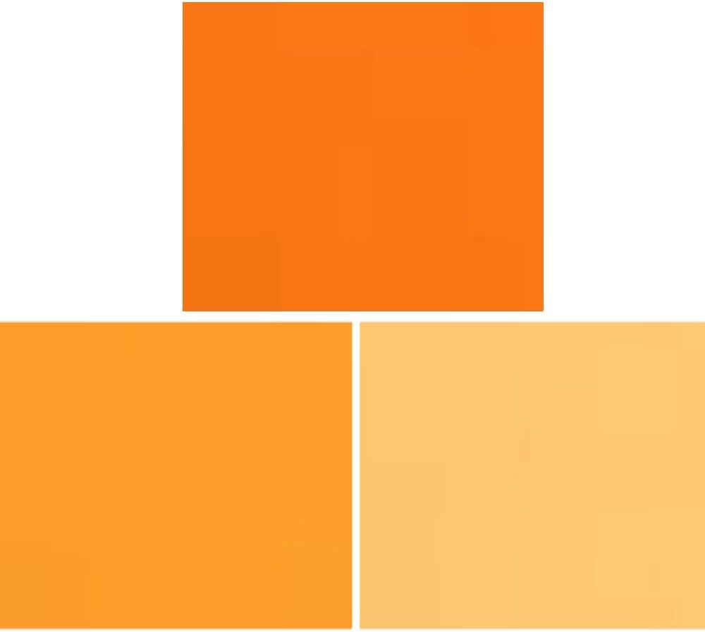 Gel Filterblatt Für Fotostudio 40 6 X 50 8 Cm Orange Kamera